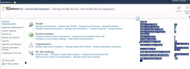 Organization browser in SharePoint 2010 (5/6)